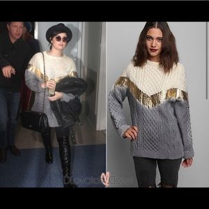 RAG UNION Foiled Urban Outfitters YarnWool Sweater